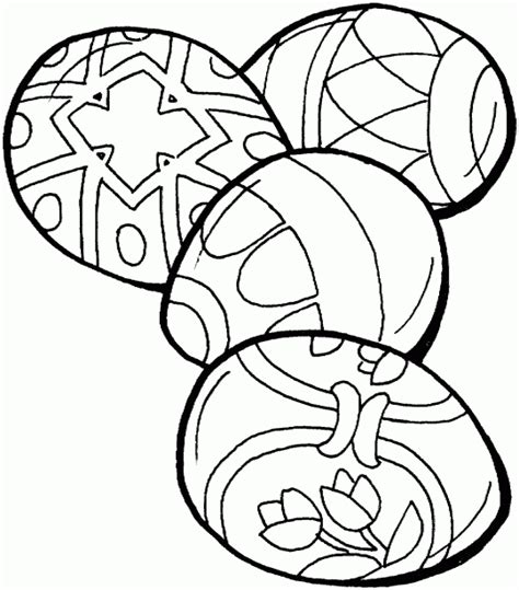 20 printable easter themed coloring pages for kids four