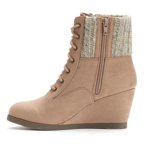 boots shoes for so ankle boots s shoes sweater knit wedge sand