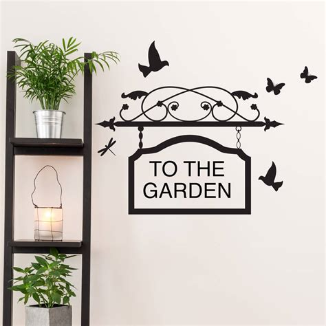 personalised vinyl wall stickers personalised sign vinyl wall sticker by oakdene designs