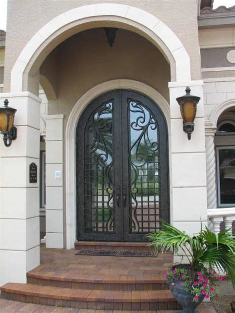 Exterior Doors Orlando Custom Iron Doors And Rails