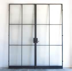 metal frame doors with glass hardscaping 101 steel factory style windows and doors gardenista