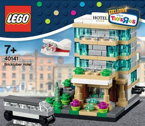 lego hotel tutorial 40141 1 bricktober hotel brickset lego set guide and