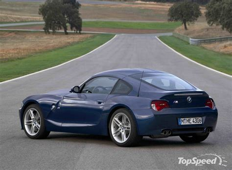 Bmw Z4 Specs by 2007 Bmw Z4 M Coupe Pictures Information And Specs