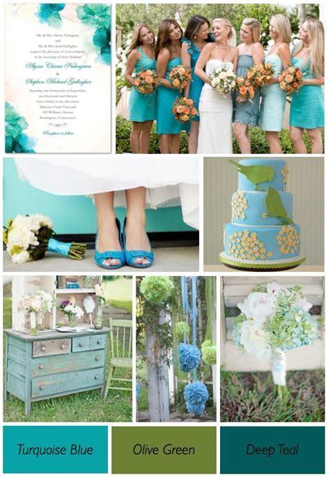 Hmmmm, I like it! Turquoise blue, olive green, and deep