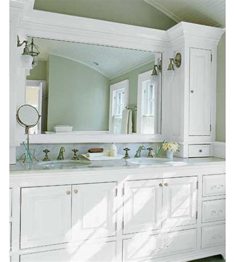 Ideas For Bathroom Cabinets by Custom Bathroom Cabinets Decorazilla Design Blog