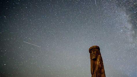 Meteor Shower Spokane by As Smoke Out Dust In Krem