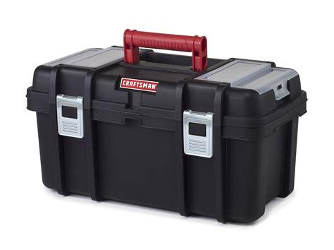 craftsman tool box craftsman 19 inch tool box with tray black