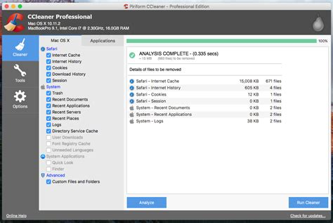ccleaner latest download ccleaner for mac clean up your mac