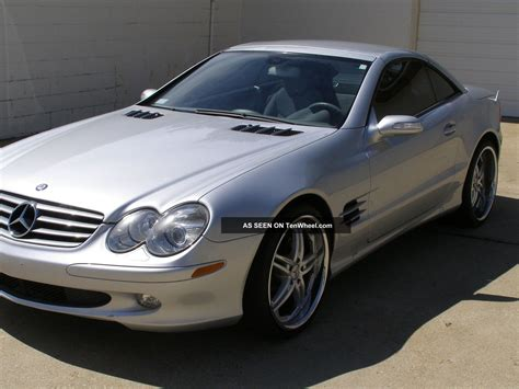 2006 mercedes sl500 base convertible 2 door 5 0l