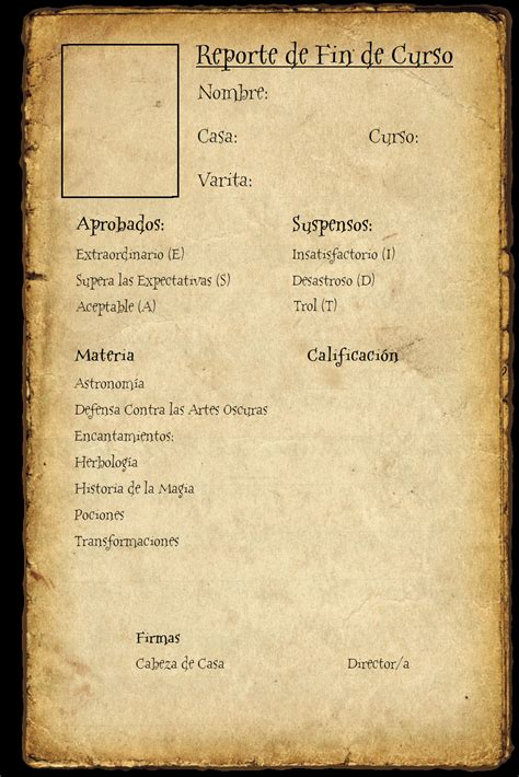 harry potter report card template hogwarts report card by nkmblackhyuuga on deviantart