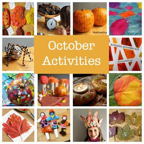 october crafts for october activity plans things to do in october with