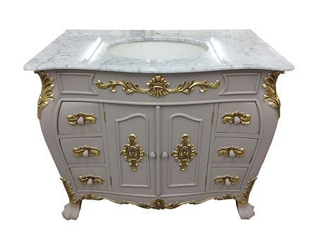 marble sink vanity unit bespoke louis small sink vanity unit with solid marble top