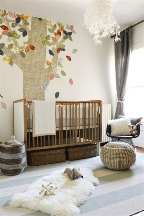 rugs baby room 15 nursery room design ideas with a fur rug kidsomania