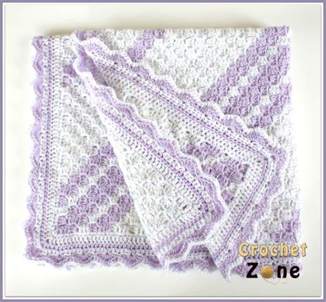 Crochet Free Patterns Baby Blankets by Lavender Baby Blanket Crochet Pattern Allfreecrochet
