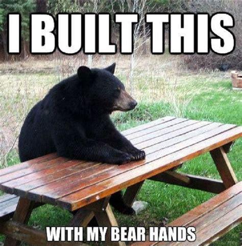 Bear At Picnic Table Meme - 16 puns so dumb you won t stop laughing viral circus