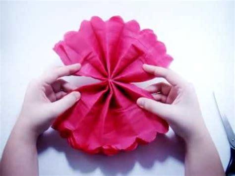 como hacer calas en papel crepe c 243 mo hacer flores de papel crep 233 o sedita youtube