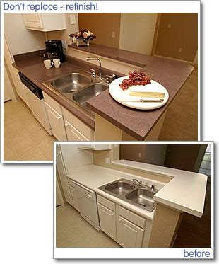 How To Rejuvenate Laminate Countertop by Kitchen Countertop Miracle Method