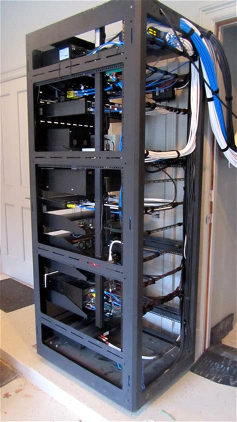 Media Closet Rack by Control4 Automation Closet By Concept Electronics