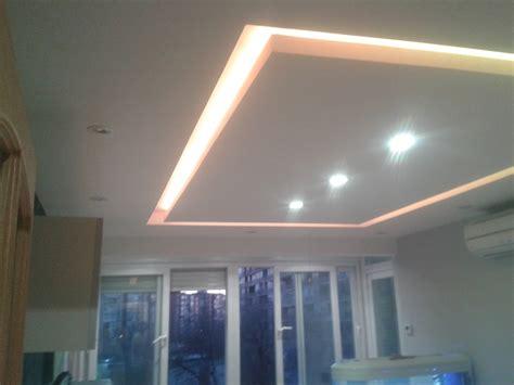 luz techo foto falso techo con luces led integradas con mando a