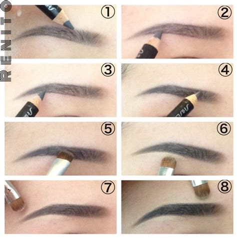makeup tutorial in pictures how to apply eyebrow makeup style guru fashion glitz