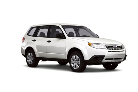2012 subaru forester technical specifications and data
