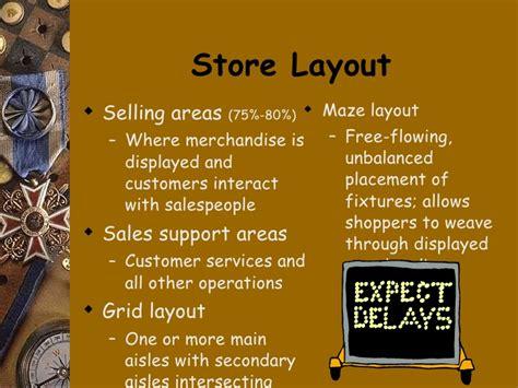 grid layout visual merchandising visual merchandising powerpoint educ