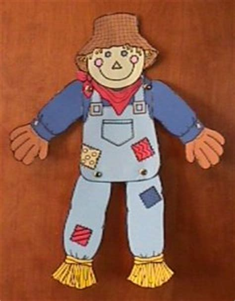 Scarecrow Paper Craft - scarecrow crafts 171 grandmother wren