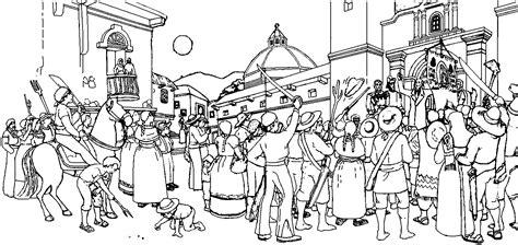 imagenes para colorear independencia de mexico independencia de mexico para colorear