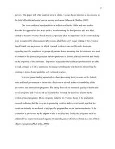 High School Research Paper Layout by Harvard Style Research Paper Nursing Evidenced Based Practice