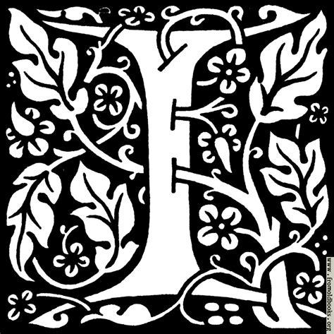 I Decorative by Decorative Letter I