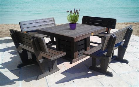 recycle black pvc pipe furniture 6 gorgeous recycled plastic garden furniture items to consider