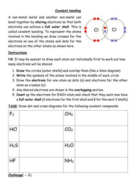 Chemical Bonding Worksheet Middle School by Best 25 Covalent Bond Ideas On Chemical Bond
