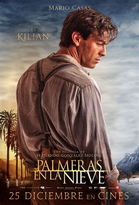 palmeras en la nieve palmeras en la nieve movie poster cartel 6 of 6 imp awards
