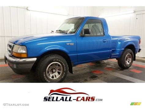 1998 boysenberry blue metallic ford ranger xlt regular cab 99072012 gtcarlot car color