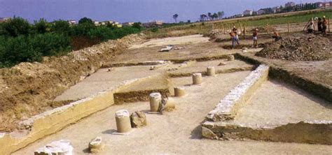 comune porto recanati area archeologica romana citt 224 di potentia santa in