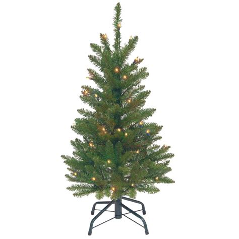 3 foot christmas tree with lights national tree company 3 ft kingswood fir wrapped pencil