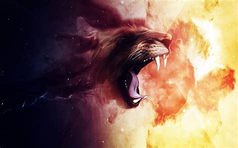 wallpaper hd pc roaring lion hd desktop wallpaper wallpapers new hd