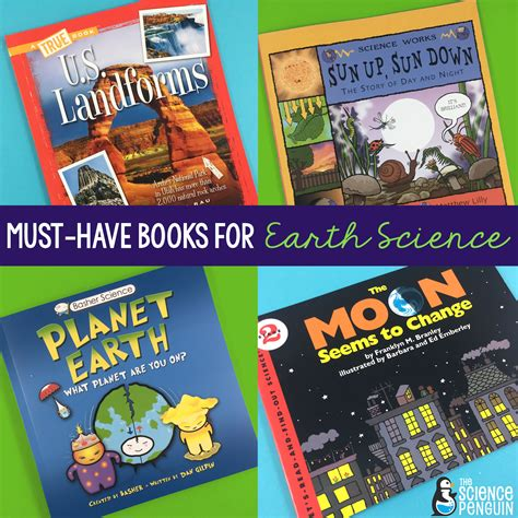 elementary picture books must earth science books for your elementary