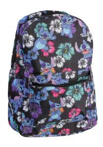 lilo stitch tropical backpack