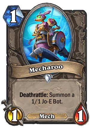 mecharoo hearthstone card hearthstone top decks