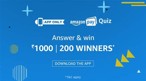 amazon quiz all answers of amazon pay quiz earticleblog