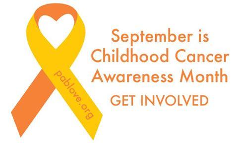 childhood cancer awareness color childhood cancer awareness month inspired