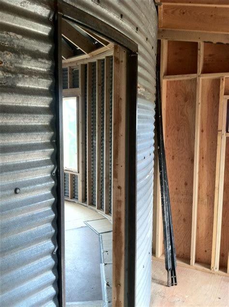 Silo House Interior Construction Markley Designs