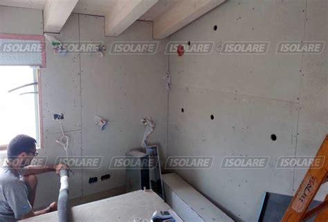 isolazione interna pareti coibentazione delle pareti senza intercapedini eseguito