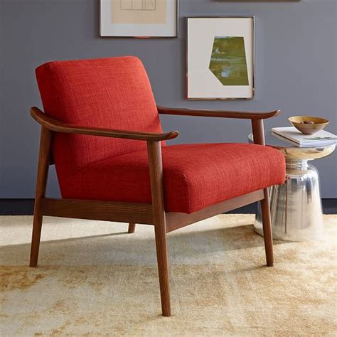 mid century leather show wood chair west elm mid century show wood chair west elm
