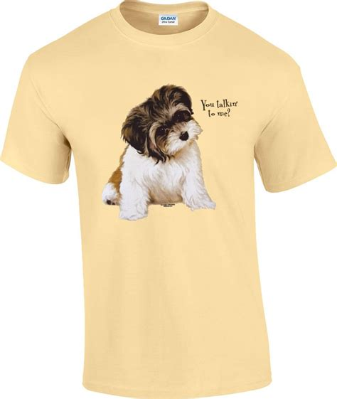 puppy t shirt you talkin to me shih tzu puppy t shirt ebay