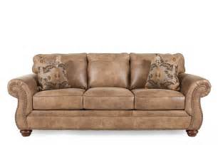 sectional sofas mathis brothers ashley larkinhurst earth sofa mathis brothers furniture