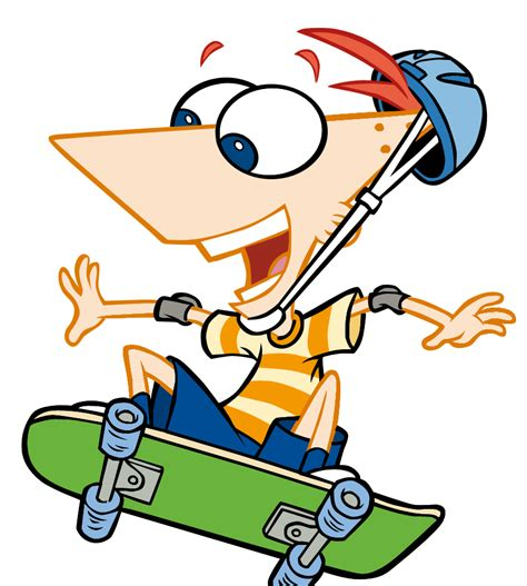 imagenes png de phineas y ferb imagen phineasskate 2 png wiki phineas y ferb fanon