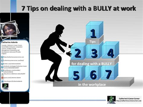 7 Tips On Coping With A Loved Ones by 7 Tips On Dealing With A Bully At Work