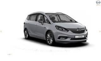 Opel And Vauxhall This Is Likely The Facelifted 2017 Opel Vauxhall Zafira
